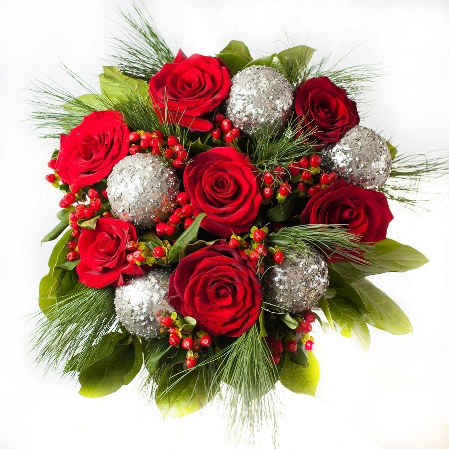 """Букет цветов """"Новогодний"""""""